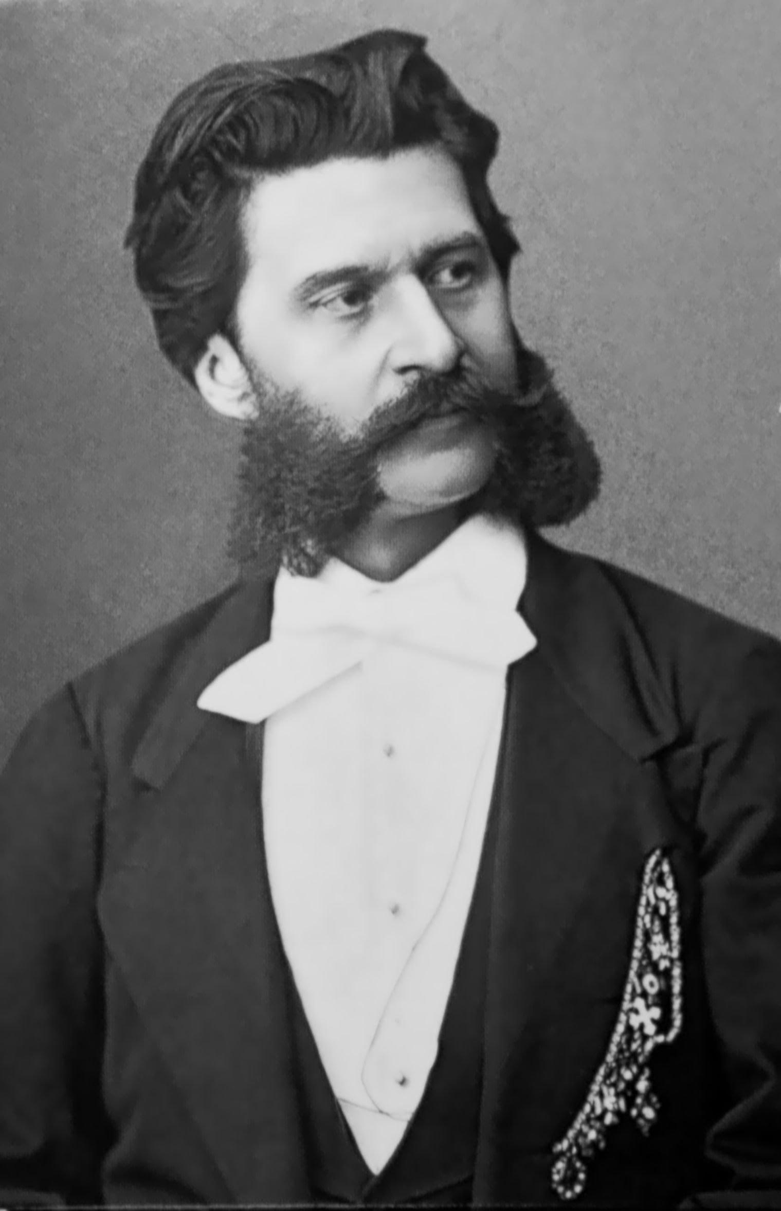 Johann Strauss Hijo 1825 1899 Notas En Red Mayor