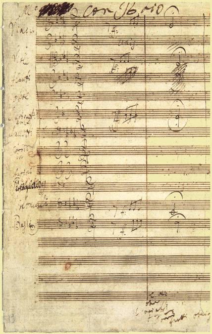 Ludwig Van Beethoven 1770 1827 Notas En Red Mayor