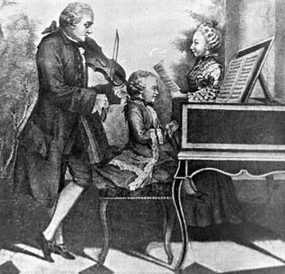 Mozart wolfgang amadeus notas en red mayor - Epoca del clasicismo ...