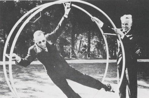 Stravinsky y Charles Chaplin (1937)