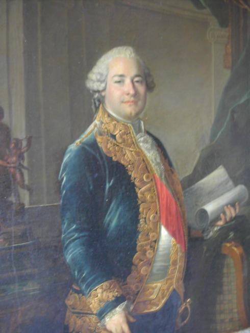 Claude Francois Marie Rigoley, conde de Ogny, quien le solicitará a Haydn las hoy conocidas como Sinfonías París