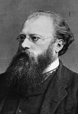 El célebre director de orquesta Hans Richter, dedicatario de la partitura de la Sinfonía No. 6 de Dvorák