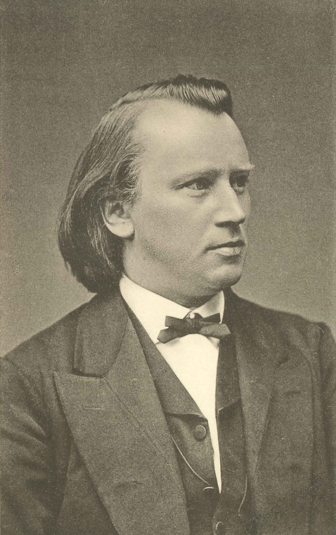 Johannes Brahms ca. 1875