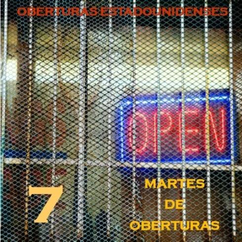MARTES DE OBERTURAS SIETE. PORTADA