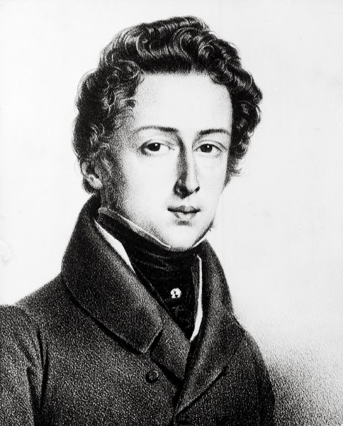 Chopin en su juventud