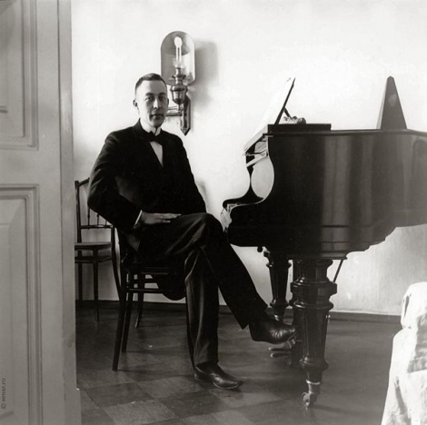 Rajmáninov al piano