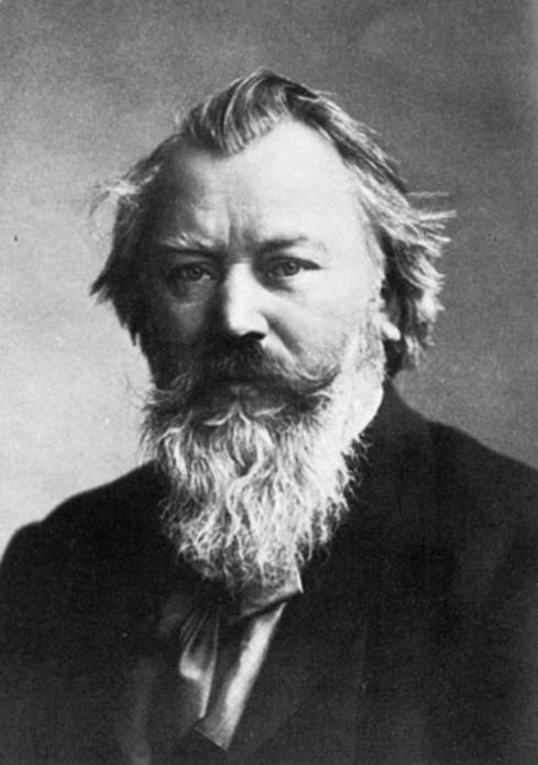 Brahms en 1881, época en la que concibió su Segundo concierto para piano.
