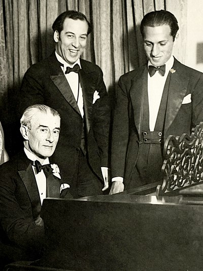 Maurice-Ravel-left-and-George-Gershwin-right-came-under-mutual-sway-when-the-French-composer-visited-the-U.S.-in-1928.